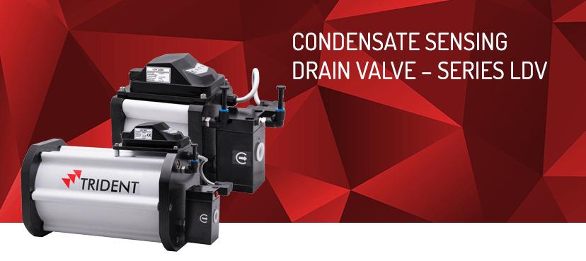 Automatic drain valve |drain valve- Trident Pneumatics